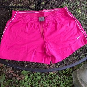 Pink NIKE shorts Preowned